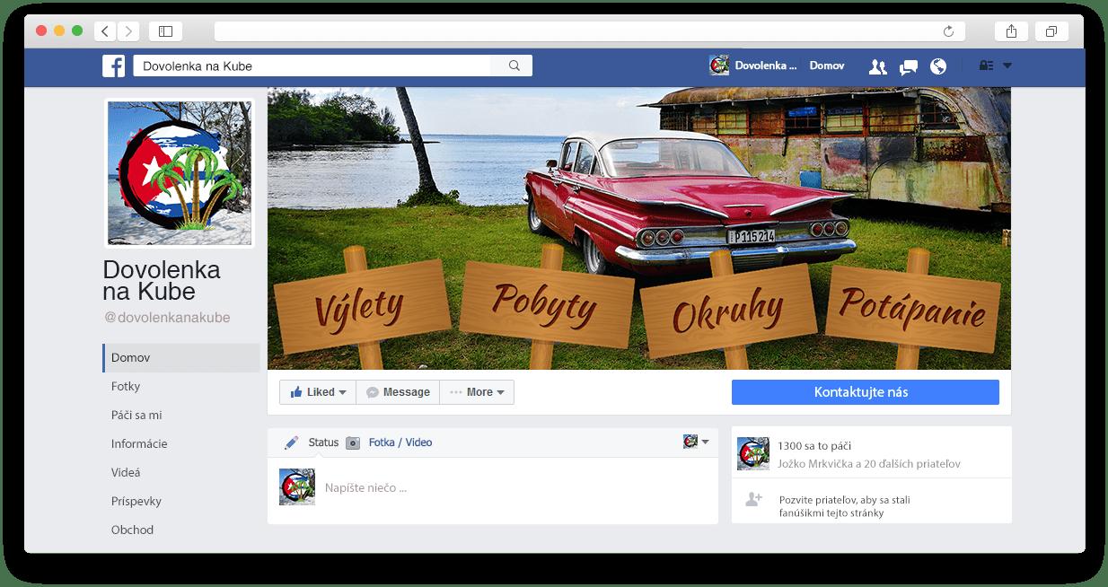 Náhľad web stránky dovolenkanakube.sk na rôznych zariadeniach
