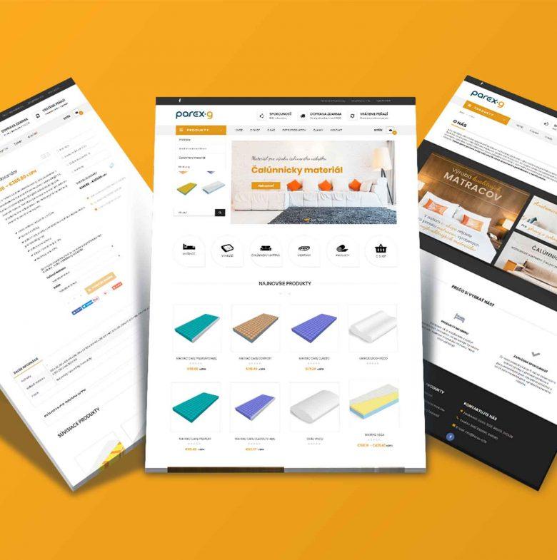 Parex-g.sk – Výroba a predaj matracov