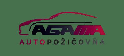 Logo Autopožičovňa AGAMA klient marketingovej agentúry UNIQINO