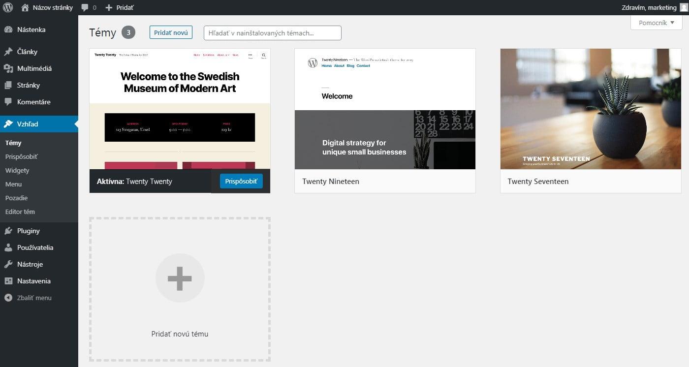 Ako vybrať najvhodnejšiu WordPress tému?