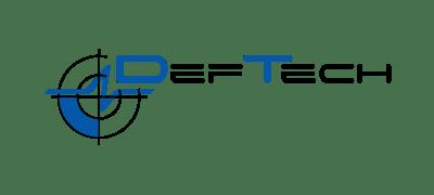 Logo DefTech a.s. klient marketingovej agentúry UNIQINO