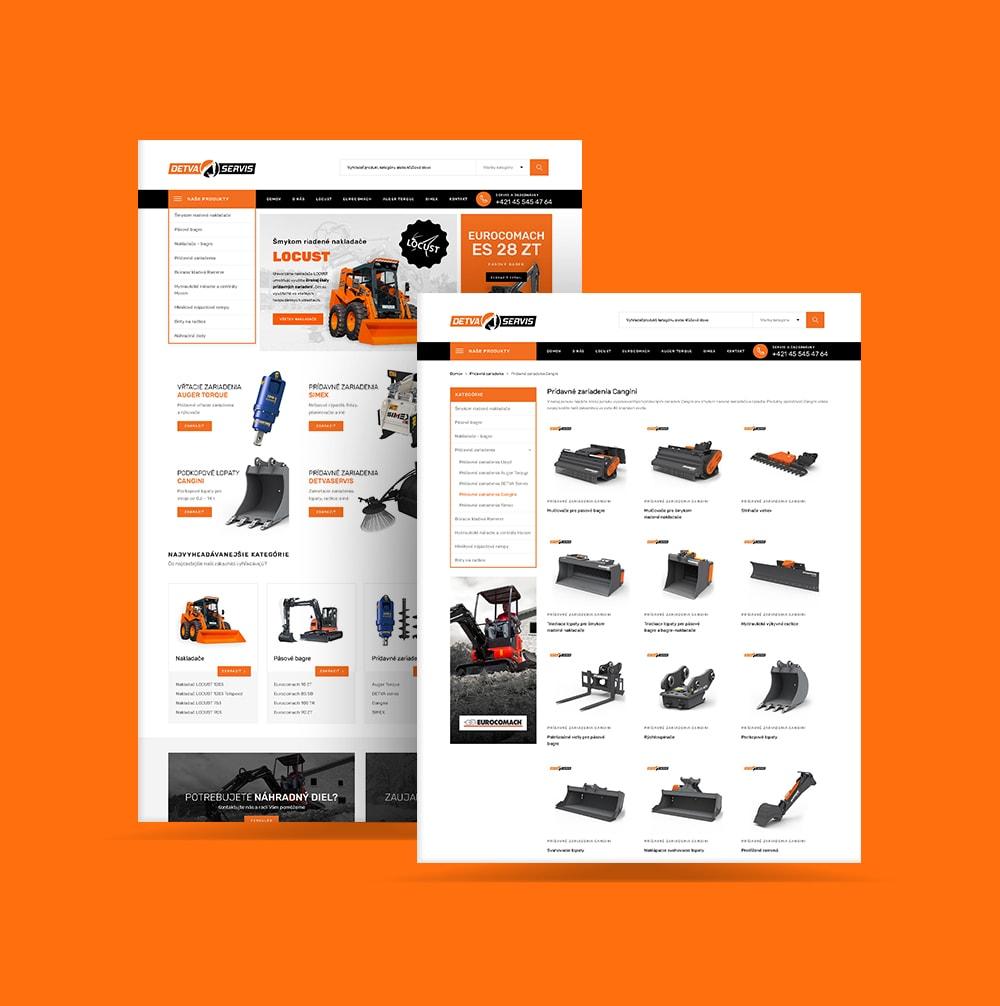 Tvorba web stránky pre DETVA SERVIS | Marketingová agentúra UNIQINO