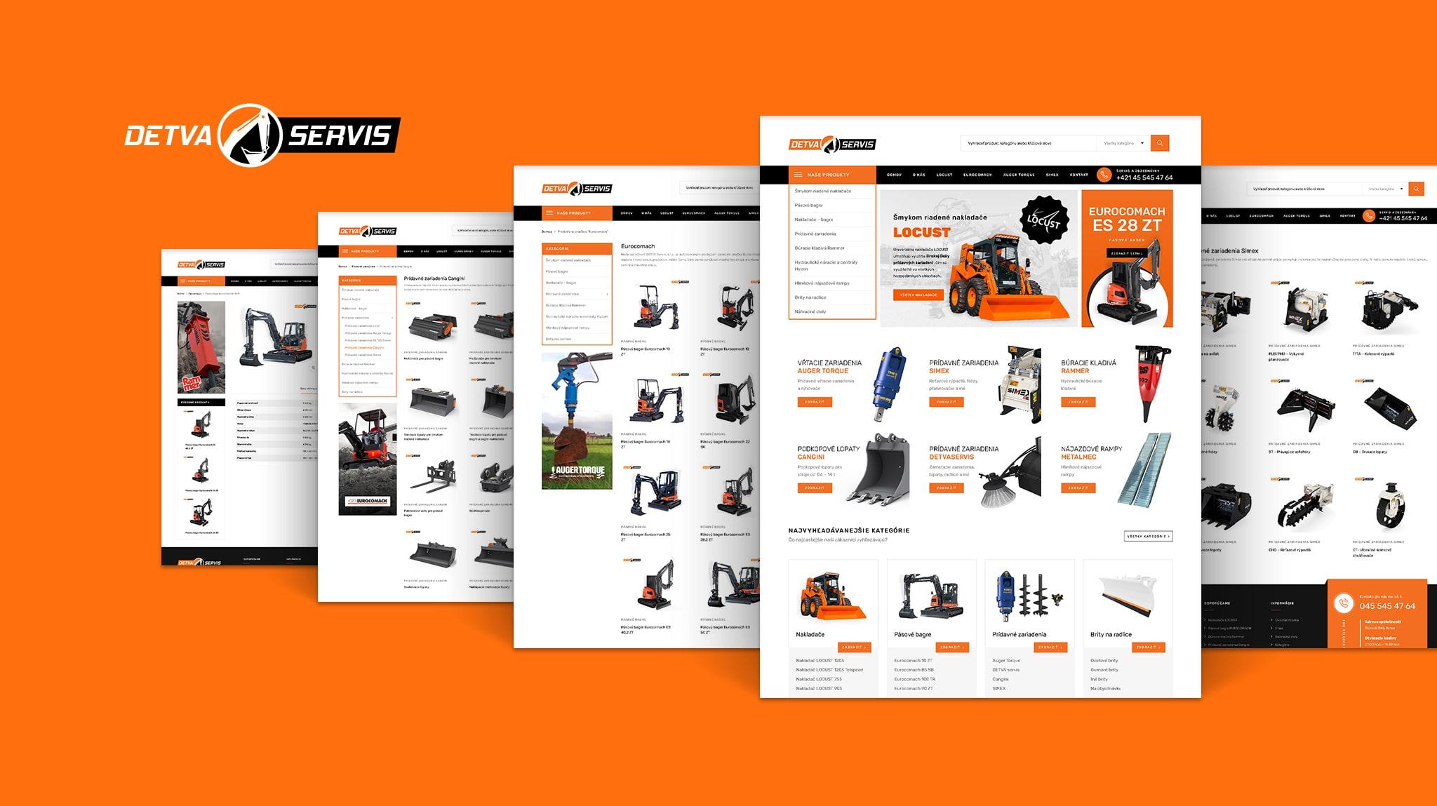 Tvorba web stránky detvaservis.sk | Marketingová agentúra UNIQINO