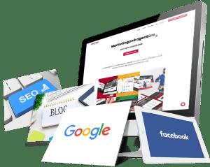 Facebook, SEO, copywriting, tvorba web stránok - kompletný online marketing