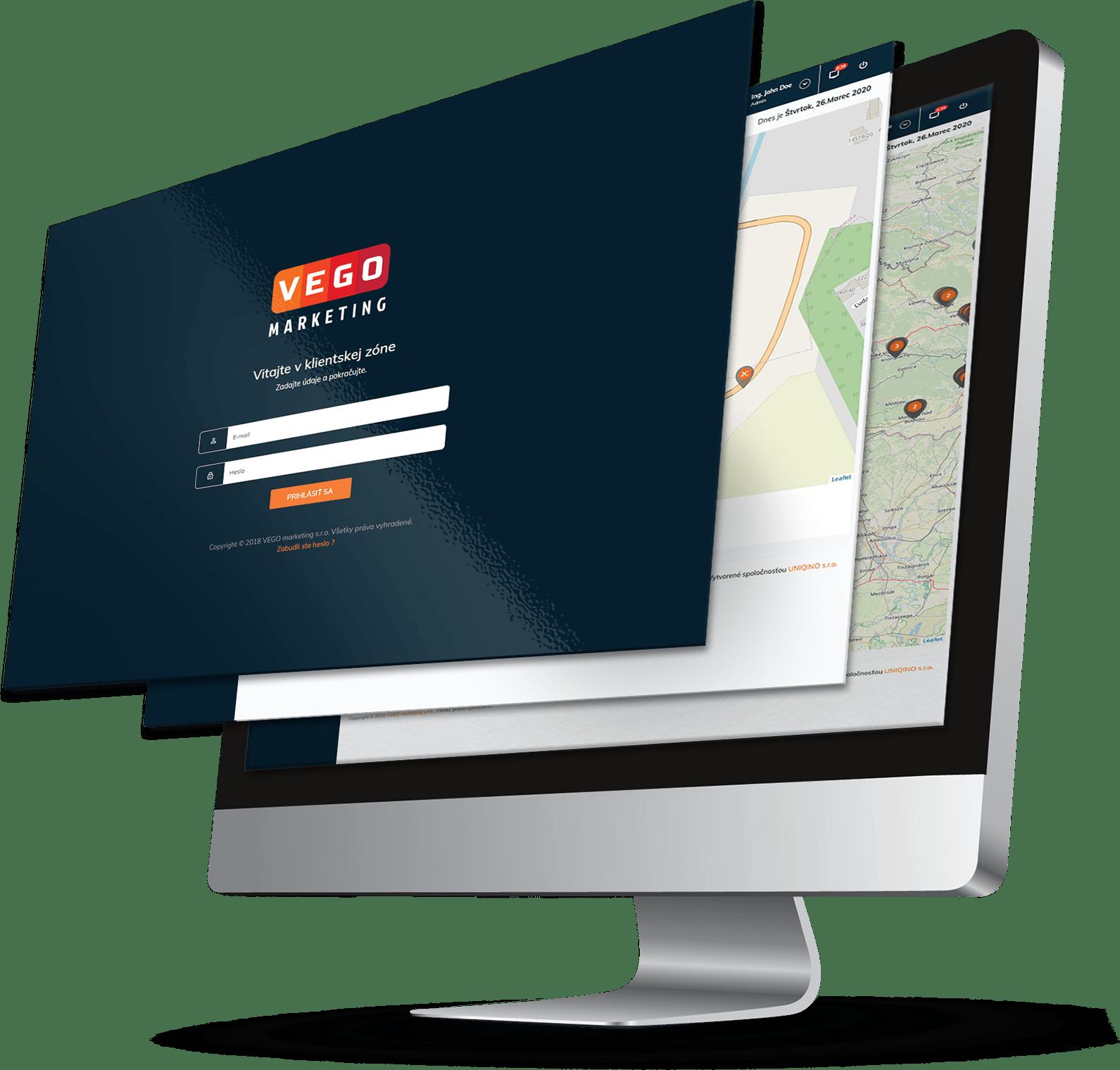 Tvorba web aplikácie pre VEGO MARKETING | Marketingová agentúra UNIQINO