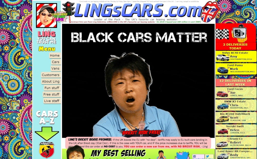 Web stránka so zlým dizajnom | Marketingová agentúra UNIQINO