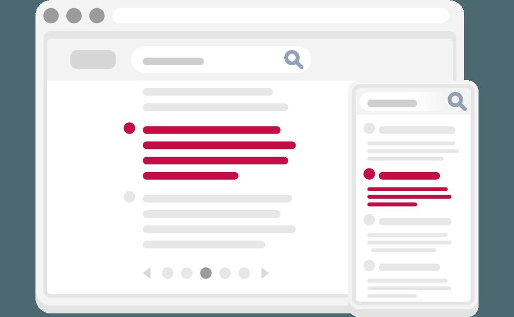 Umiestnenie web stránky vo výsledkoch vyhľadávania | Marketingová agentúra UNIQINO